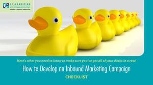 Inbound Marketing Campaign - CHECKLIST_Page_1